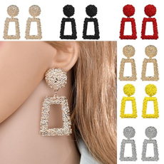 Fashion, dangledropearring, gold, Jewelry