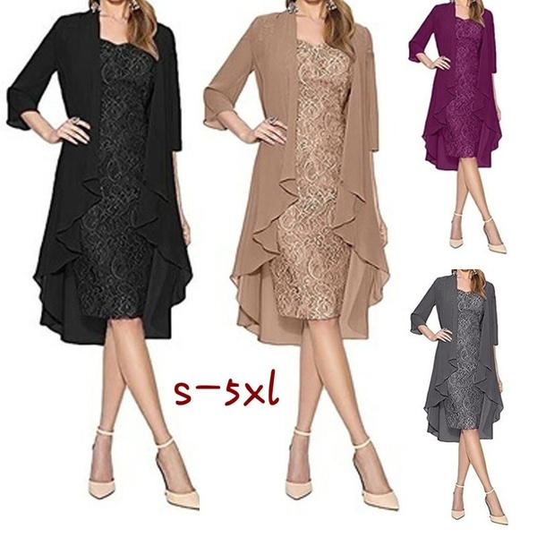 Mini, Fashion, Lace, Long Sleeve