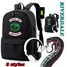 student backpacks, School, usb, rucksack
