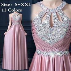 women sexy dress, Satin, Evening Dress, Dress