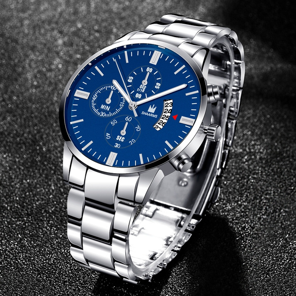 Chronograph, casualbusinesswatch, quartz, Waterproof