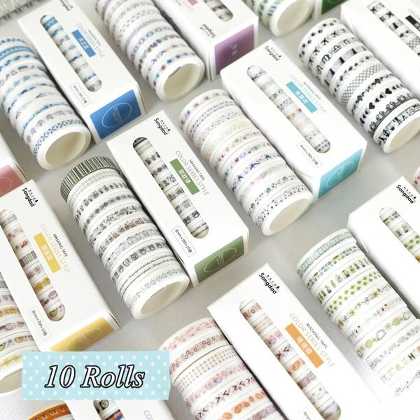 Adhesives, Decor, Scrapbooking, washitape