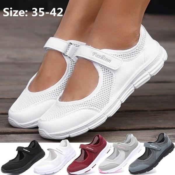 Shoes Women Velcro Sandals