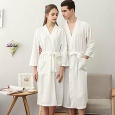 Summer, Men, Bathrobe, Nightgown
