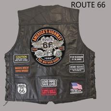 route66, motorcyclejacket, Vest, Jacket