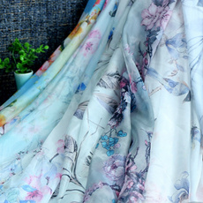 chinesefabric, chiffon, Dress, scarffabric