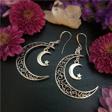 moonlunaaura, moomearring, Earring, withcywiccanwitch