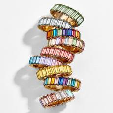crystal ring, wedding ring, Crystal Jewelry, fashion ring