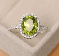 Sterling, Silver Jewelry, DIAMOND, haloring