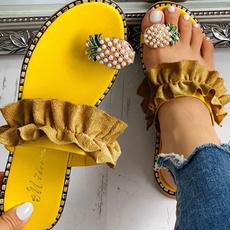 Summer, Flip Flops, Outdoor, Women Sandals