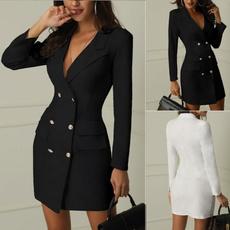 pencil skirt, Office, women dresses, Coat