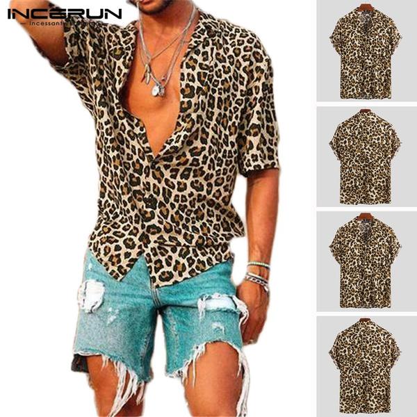 Summer, beachshirt, Shirt, button