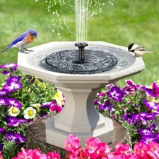 birdbathfountain, Outdoor, aquariums, Garden
