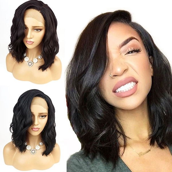 2019 Hot Sale Short Full Lace Human Hair Wigs Brazilian Full Lace Front Wigs Human Hair With Baby Hair Glueless Full Lace Wigs For Women Wish