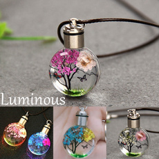 amber, butterfly, luminousnecklace, Fashion