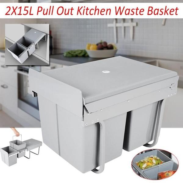pulloutbin, garbagecabinet, wastebasket, trashcontainer