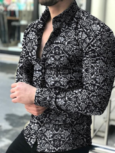 flowershirt, Fashion, Polo Shirts, partyshirt