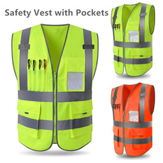 Vest, Outdoor, safetyvest, Riding Bicycle