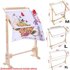 crossstitch, floorstand, crossstitchframe, stitchwork