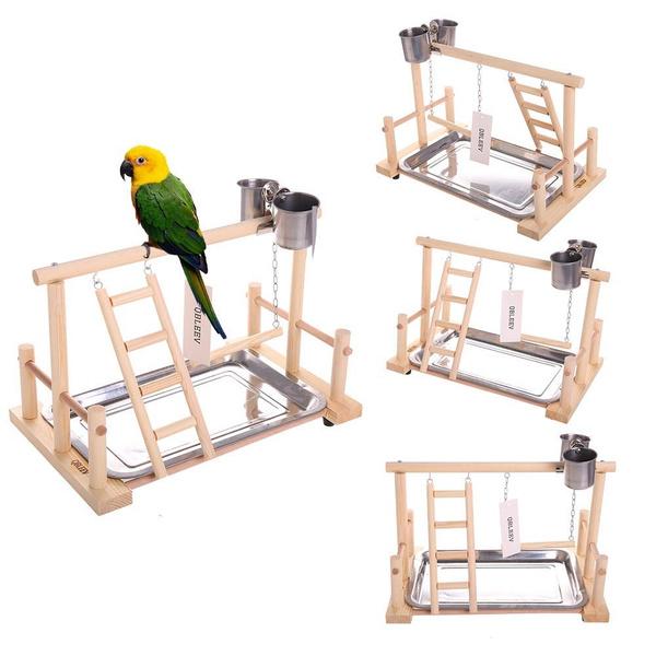 Wood, Toy, Home Decor, parrotclimbingtoy