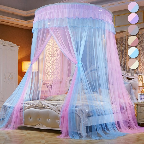 Ceiling Mounted Mosquito Net Free, Queen Size Bed Hanging Canopy