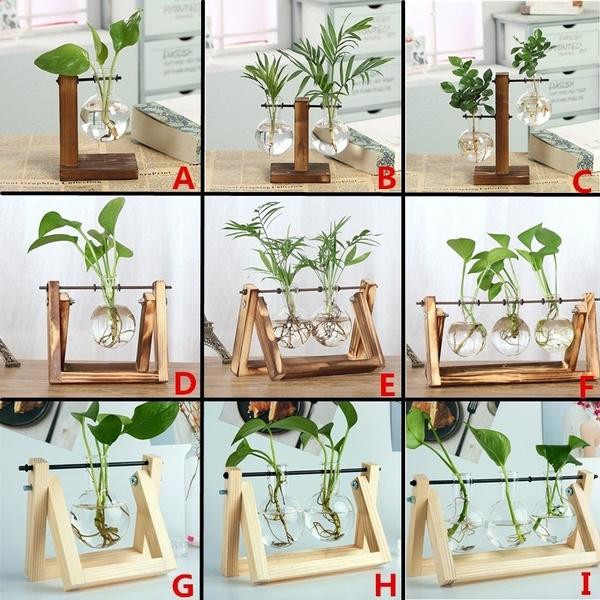 Bonsai, glassplanter, terrariumvase, glassvase