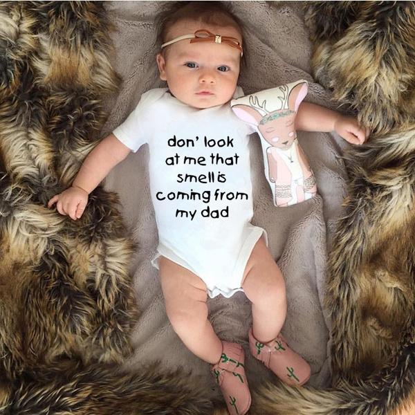 Funny, toddlersleepsuit, Shorts, Cotton