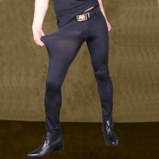 silky, trousers, Elastic, pants