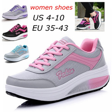 Sneakers, Plus Size, Platform Shoes, Casual Sneakers