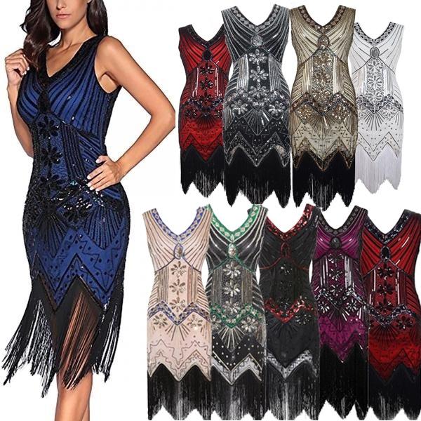 Tassels, 1920sparty, Vintage dress, vintagedresses1950