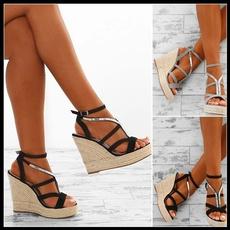 Summer, Sandals, Platform Shoes, Pump