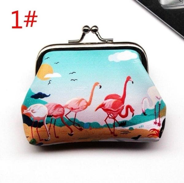 flamingocoinpurse, coinmoneybag, flamingo, Gifts