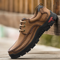 casual shoes, Outdoor, leather shoes, Breathable