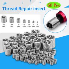 Steel, threadrepairkit, Stainless Steel, threadrepairinsert