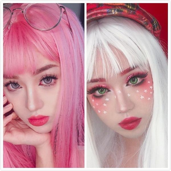 wig, pink, Fashion, Cosplay