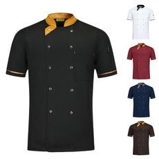 chefjacketsummer, Kitchen & Dining, Shorts, cookjacketshortsleeve