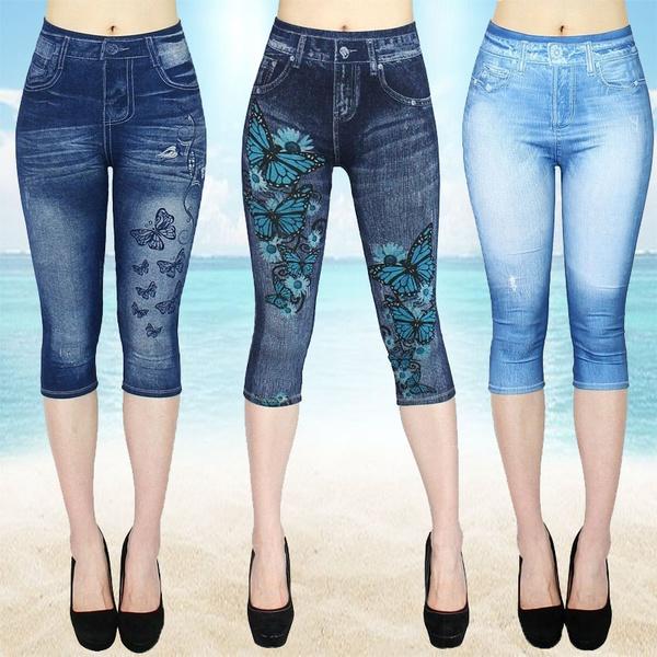 butterfly, Summer, Leggings, Plus Size
