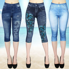 butterfly, Summer, Leggings, Plus Size