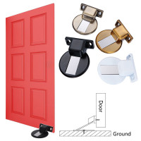 ZSH Door Stops//Door Stopper//Alloy Strong Magnetic Mute Door Stopper,for Bathroom Floor Suction Door Anti-Collision Door Stop Bedroom Wall Suction Door Touch Color : E