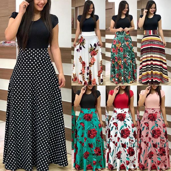 party, Fashion, high waist, long dress