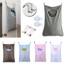Baño, hanginglaundrybagwithhook, storagepouch, Bolsas