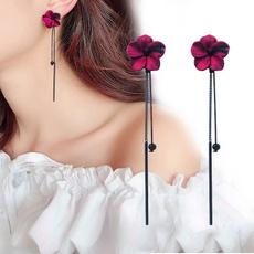 pendantforwoman, tasselsearring, Flowers, Jewelry
