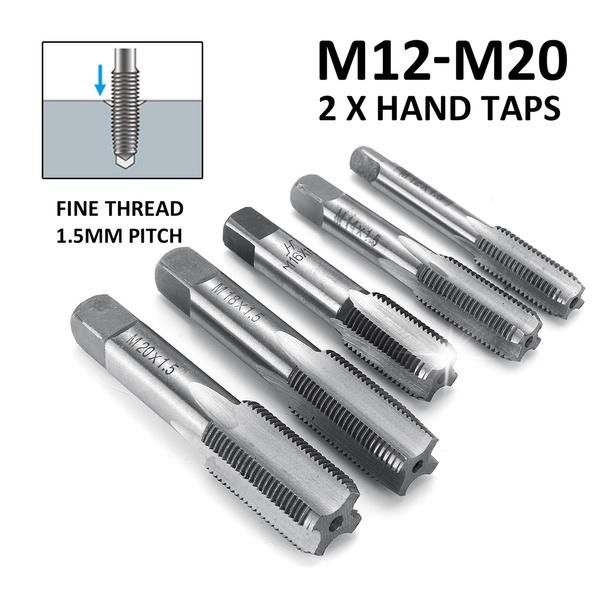 S 1pcs 37mm x 1.5 Metric HSS Right hand Thread Tap M37 x 1.5 mm High quality