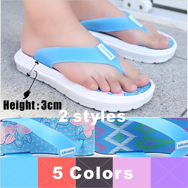 non-slip, Summer, Flip Flops, Fashion