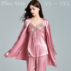Plus Size, sexylingerieset, Bathrobe, pajamassuit