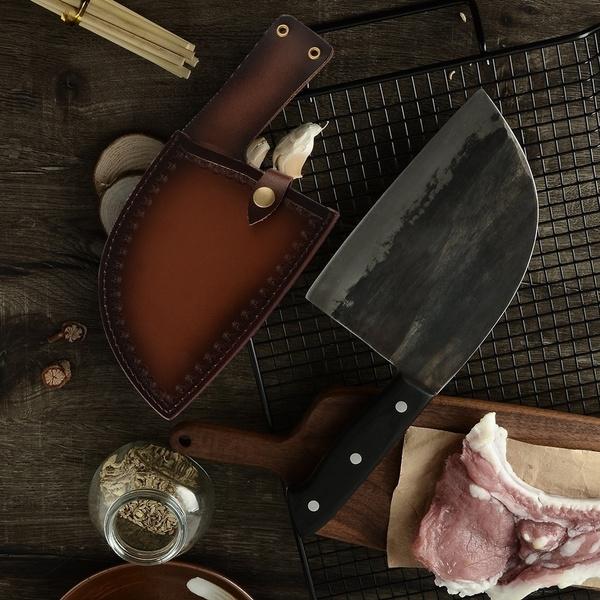 Steel, slaughterkitchenknife, handmadeknife, Outdoor