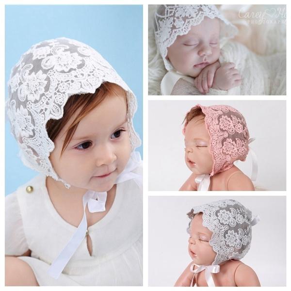 cute, Beanie, Fashion, girlstielaceflowerhat