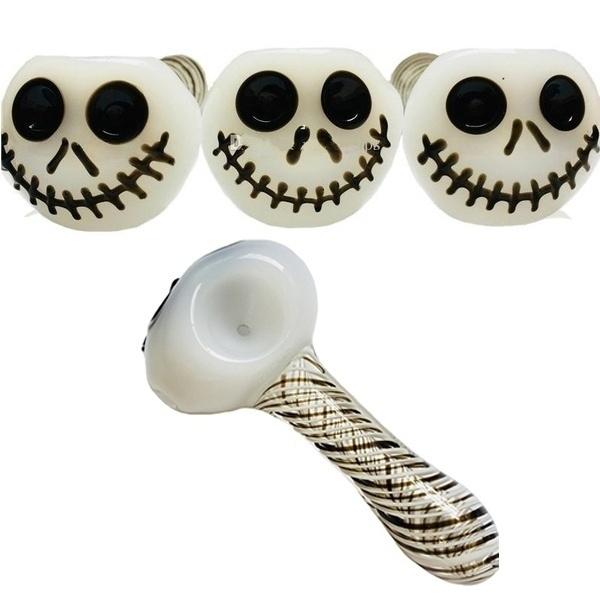 skull, smokingtool, Glass, Halloween