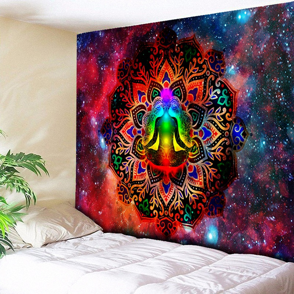 Decor, Yoga, mandalatapestry, Home & Living