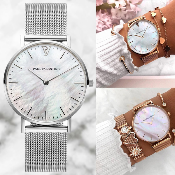 Steel, Vintage, Fashion, bracelet watches